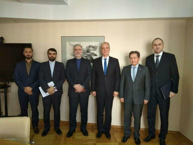 دیدار سفیر ایران با معاون وزیر خارجه بلاروس