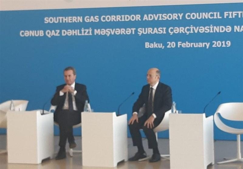 نتایج اجرای طرح خط لوله گاز جنوبی در باکو ارائه شد