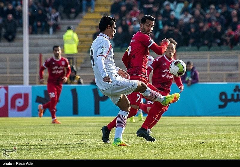لیگ برتر فوتبال، تساوی سایپا و تراکتورسازی در نیمه نخست