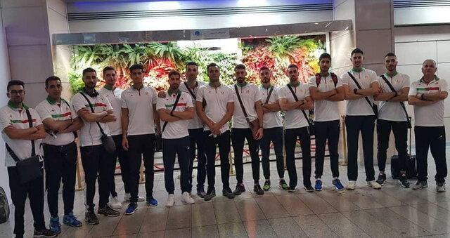 تیم ملی والیبال دانشجویان عازم ایتالیا شد