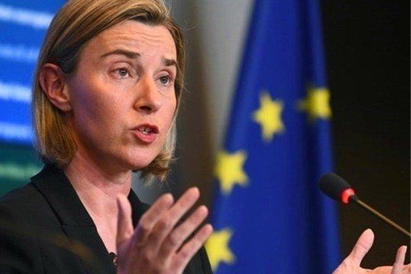 موگرینی: اروپا بر توقف فوری حملات نظامی به طرابلس اتفاق نظر دارد