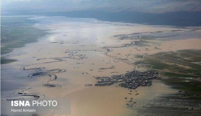 چرا سیلاب های ایران گل آلود است؟