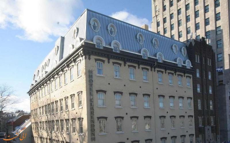 معرفی هتل 4 ستاره کلارندون کبک سیتی کانادا