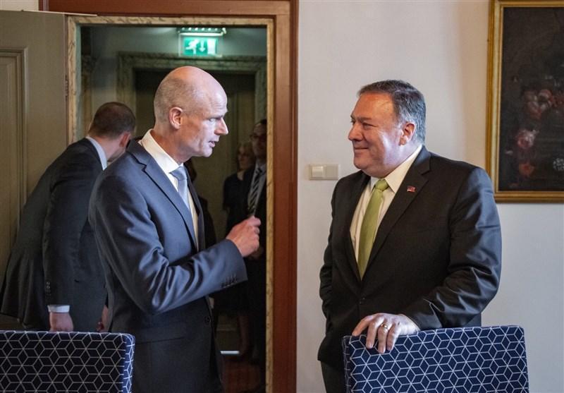 دیدار پامپئو و وزیر خارجه هلند در لاهه