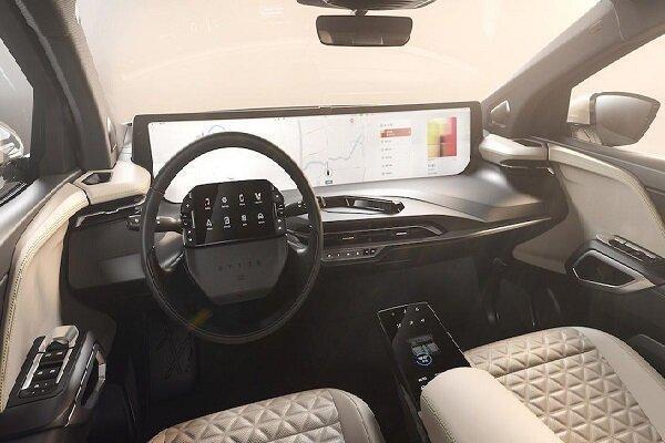 خودرو برقی با نمایشگر 48 اینچی تولید شد