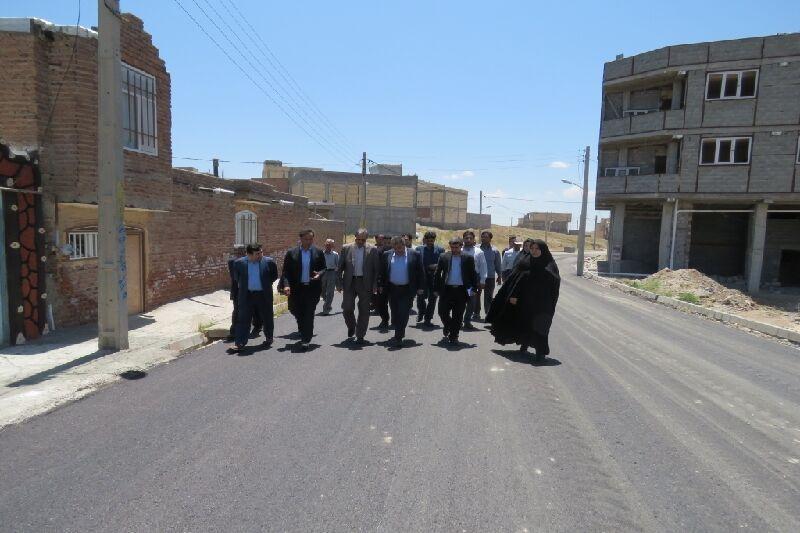 خبرنگاران 55 هزار مترمربع از روستاهای مراغه در حال آسفالت ریزی است