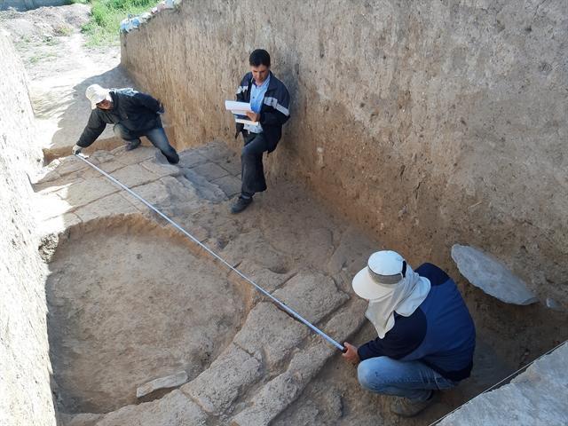 شناسایی شواهدی نویافته از دوره تاریخی و اسلامی در تپه کوشکله سقز
