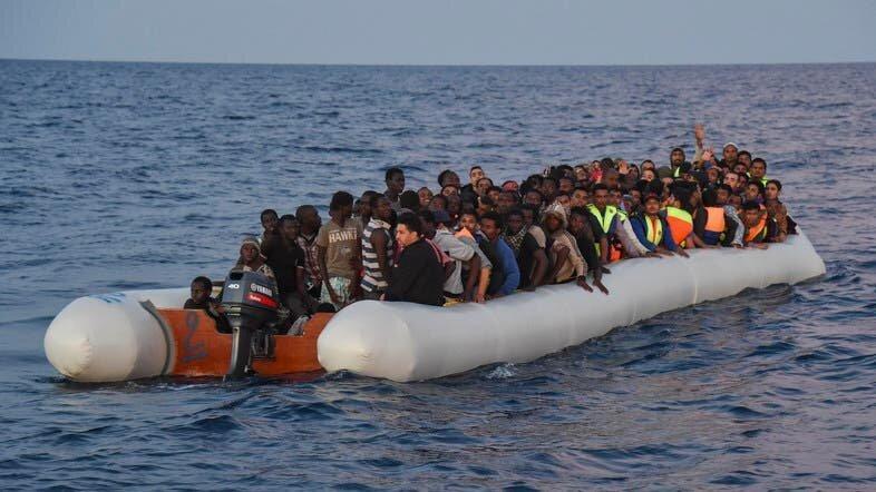 اجساد 82 مهاجر در سواحل تونس از آب گرفته شد