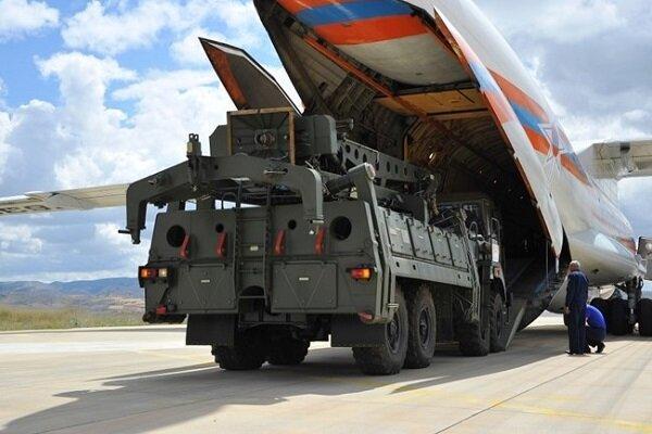 پنجمین محموله سامانه اس-400 وارد آنکارا شد