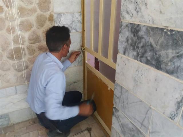 پلمپ 4 واحد اقامتی غیرمجاز در روستای گردشگری اخلمد خراسان رضوی