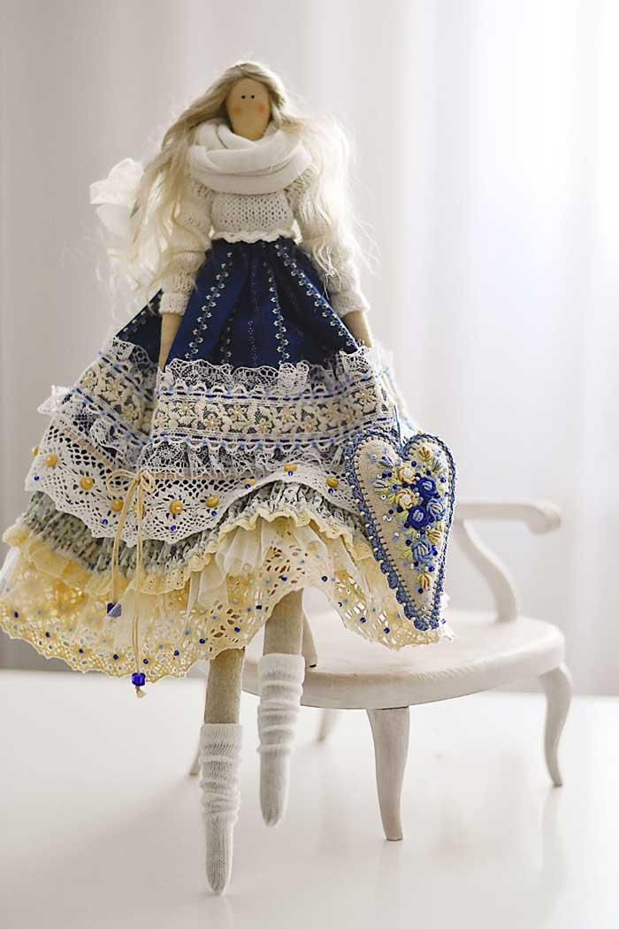 آموزش قدم به قدم ساخت عروسک روسی تیلدا