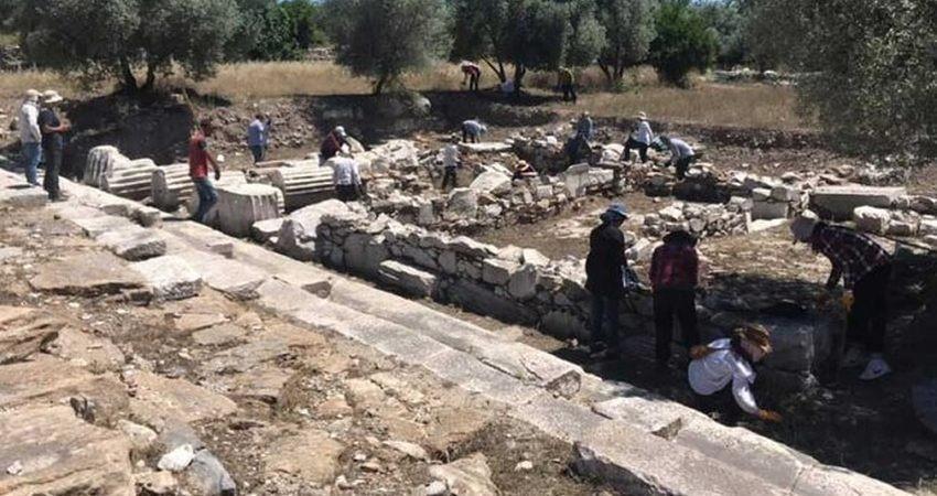 جاده مقدس یونان باستان کشف شد