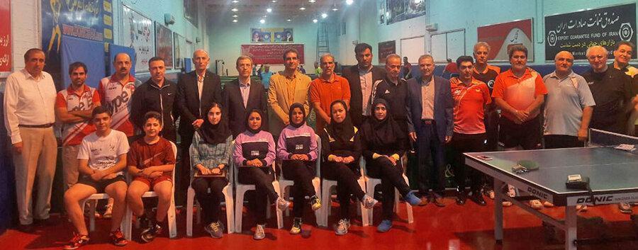 کسب جایگاه سوم جهان در بازی های پیوند اعضا و برنده جایزه بیشترین مدال به نسبت تعداد ورزشکاران