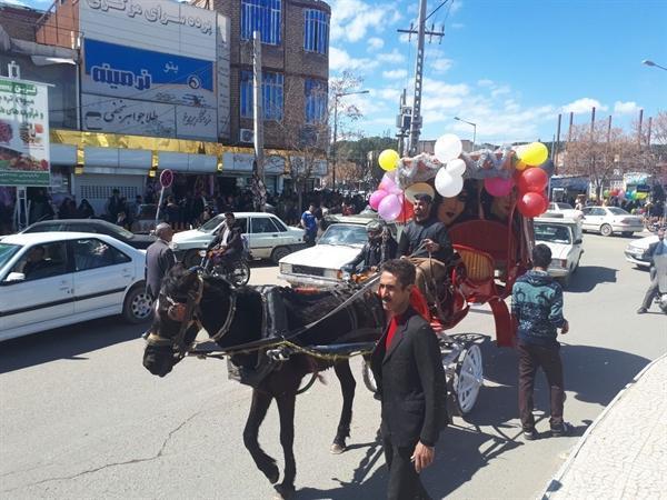 سه روز جشن نوروزگاه در شهر بردسکن برگزار گردید
