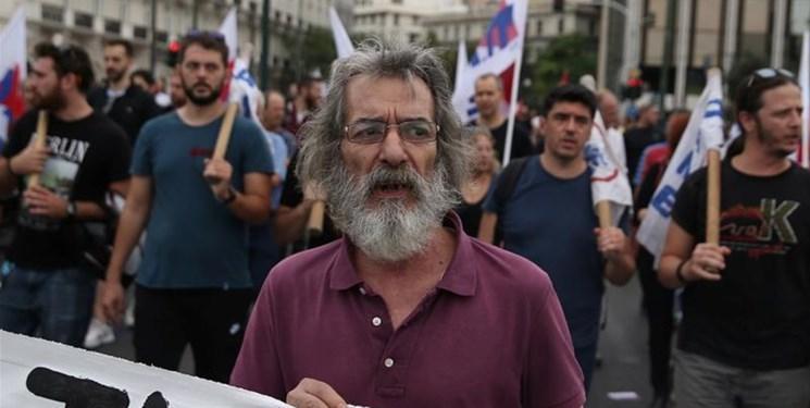 اعتصاب یونانی ها در اعتراض به سیاست های دولت جدید