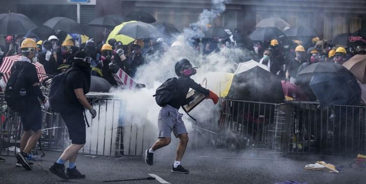 ادامه تظاهرات در هنگ کنگ؛ نا فرمانی معترضان در برابر قانون