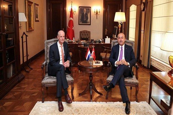 هلند از ترکیه خواست تا حمله به سوریه را متوقف کند