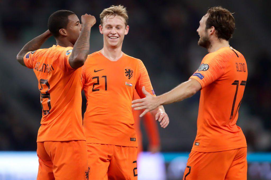پیروزی مهم هلند برابر بلاروس با دبل واینالدوم