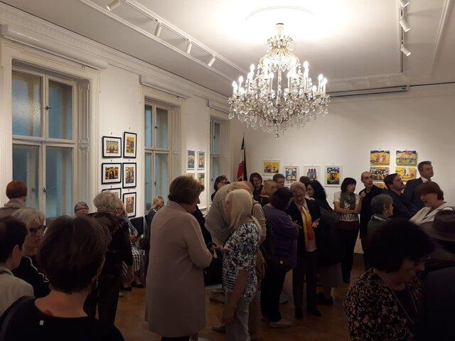 اتریشی ها هنر ایرانی را به تماشا گذاشتند