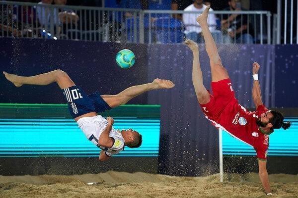 تیم ملی ساحلی ایران فینالیست شد، جدال با اسپانیا برای قهرمانی