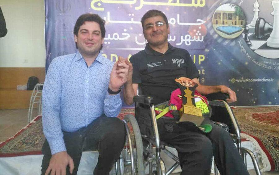 واحد نجفی به مقام اول و کاپ اخلاق مسابقات شطرنج آزاد بین المللی جام آفتاب رسید
