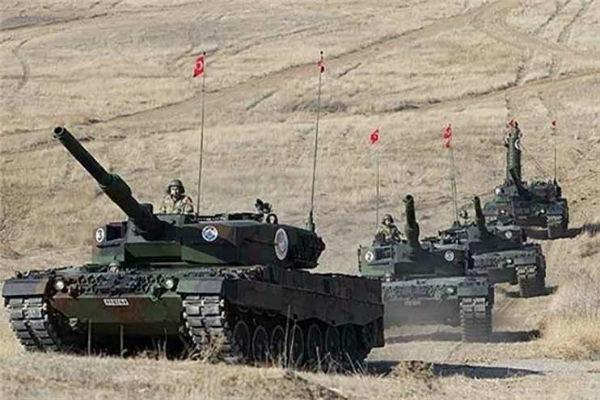 ارتش ترکیه قامشلی را گلوله باران کرد