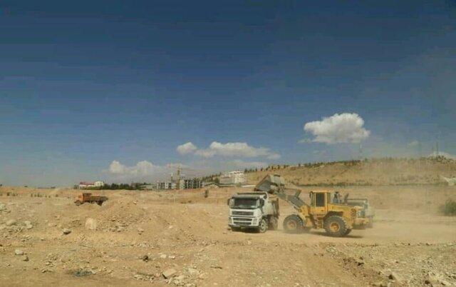 شروع عملیات خاکبرداری پروژه باغ موزه دفاع مقدس کهگیلویه و بویراحمد