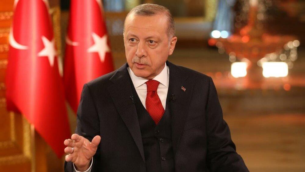 اردوغان بر ادامه عملیات در شمال سوریه تأکید کرد، حمله به بیانیه اتحادیه عرب