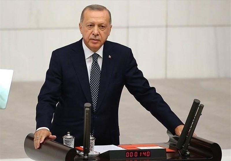 اردوغان: امنیت را از منبج تا مرزهای عراق برقرار می کنیم
