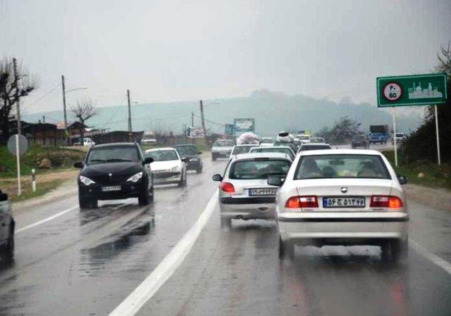 جاده های زنجان لغزنده است