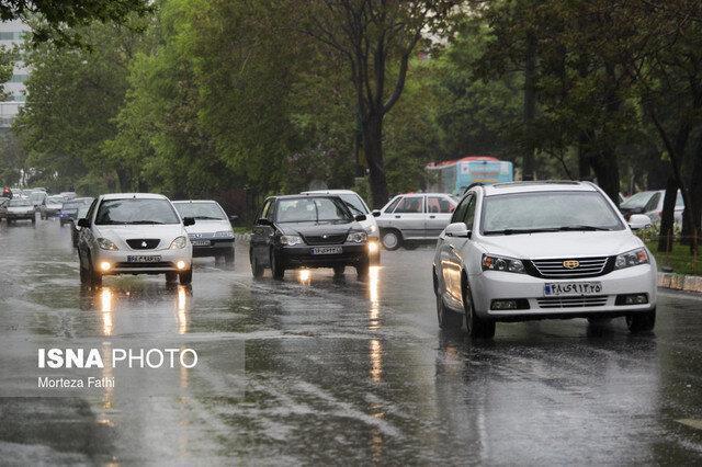 ادامه بارندگی های استان همدان از روز دوشنبه