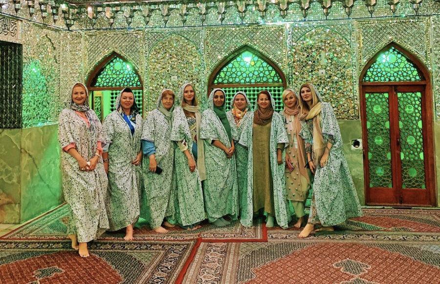 روایت زن جوان روسی از جاذبه های ایران؛ توریستی که با مرد ایرانی ازدواج کرد ، ایران را به ژاپن ترجیح دادم