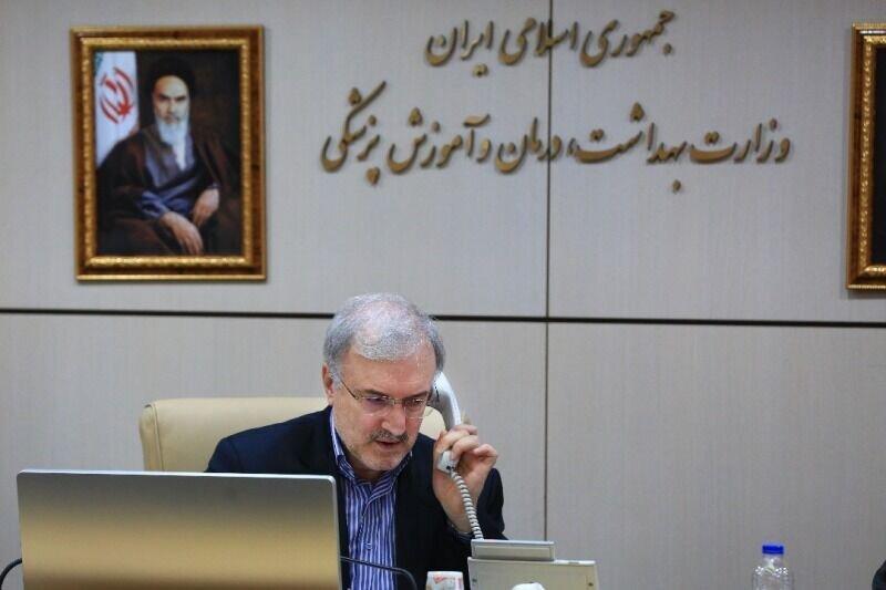 وزیر بهداشت: خط تماس ویژه مشاوره اضطراری کرونا راه اندازی شد