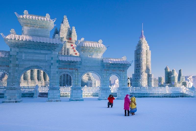 آشنایی با پارک یخ و جشنواره برف پکن
