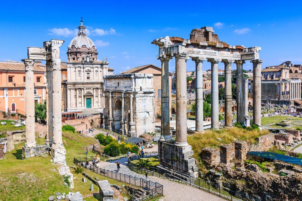 انجمن رمی (Roman Forum) در رم ایتالیا را بشناسیم