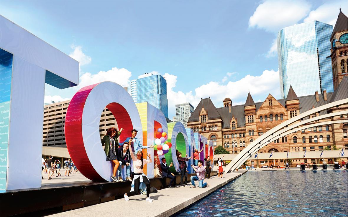 تورنتو و رکورد مسافرت های کوتاه در سال 2014