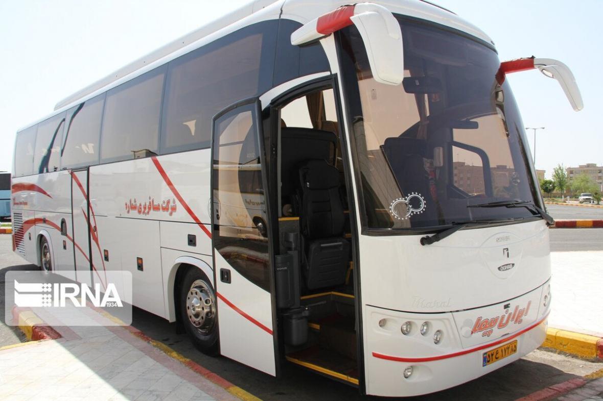 خبرنگاران جابجایی مسافر با اتوبوس با توجه به شیوع کرونا در چهارمحال و بختیاری ممنوع است