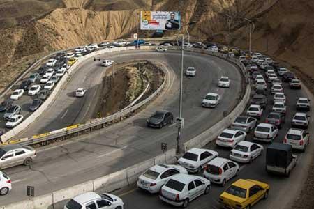 کندوان و هراز عصر امروز یکطرفه می شوند ، کدام جاده ها مسدودند؟