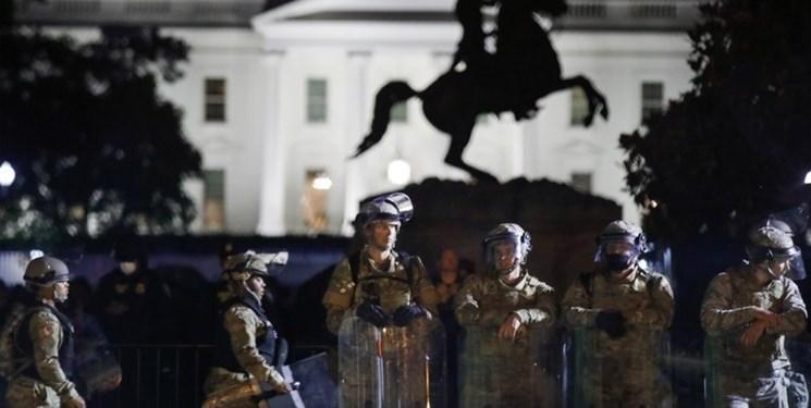 تظاهرات آمریکا، نیروهای ارتش به پادگان ها برگشتند