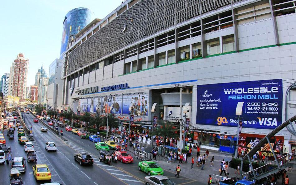 مرکز خرید لباس پلاتینیوم بانکوک (تایلند)