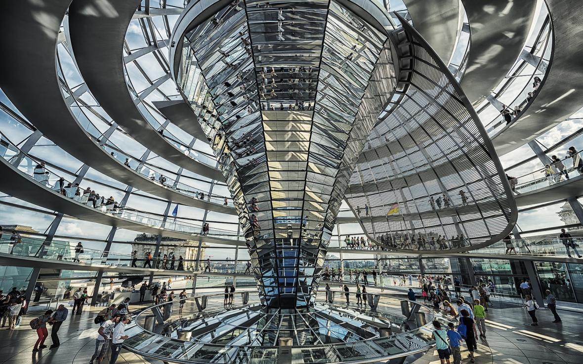 ساختمان رایشتاگ برلین (آلمان)