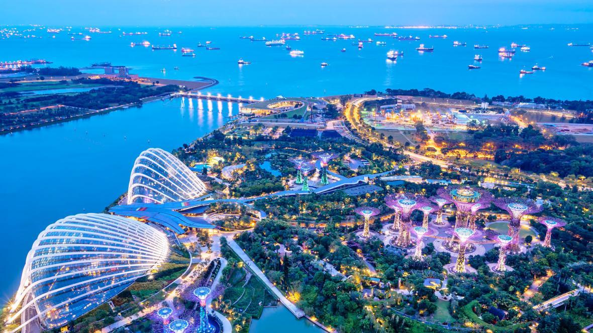 باغ های خلیج (سنگاپور)
