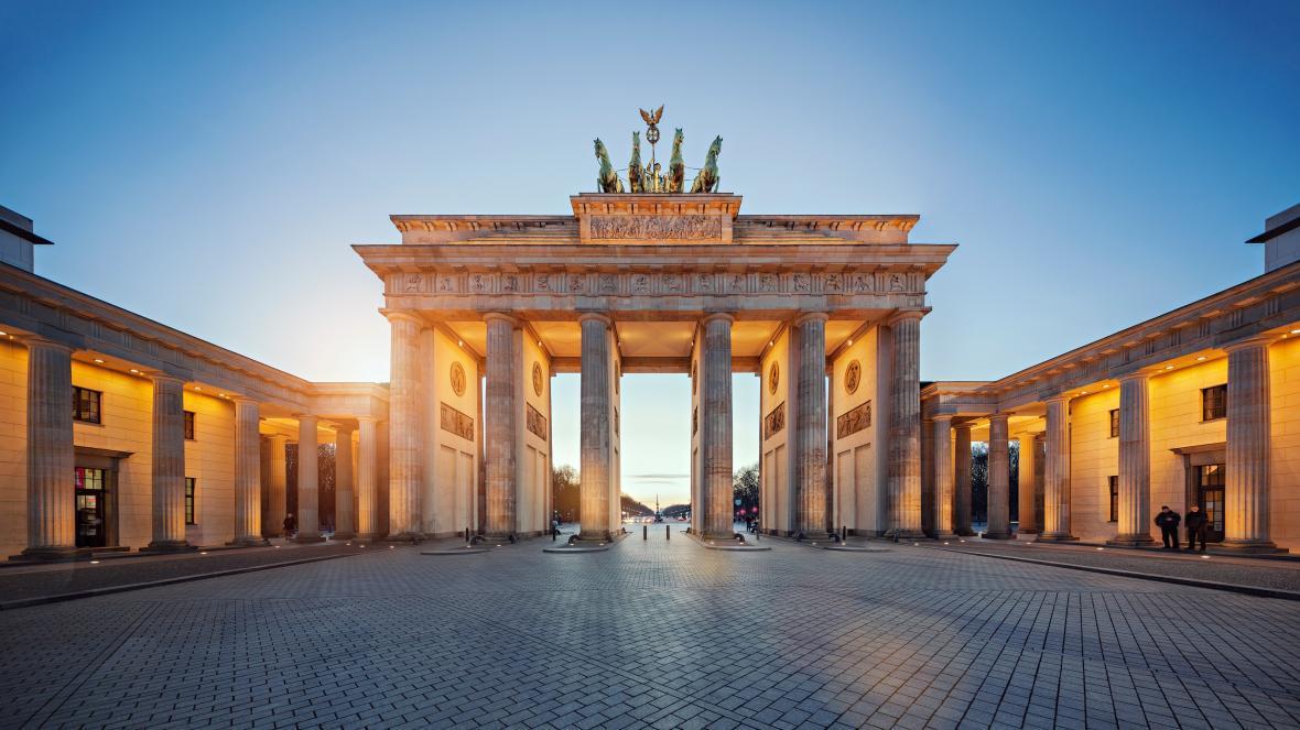 دروازه براندنبورگ برلین (آلمان)