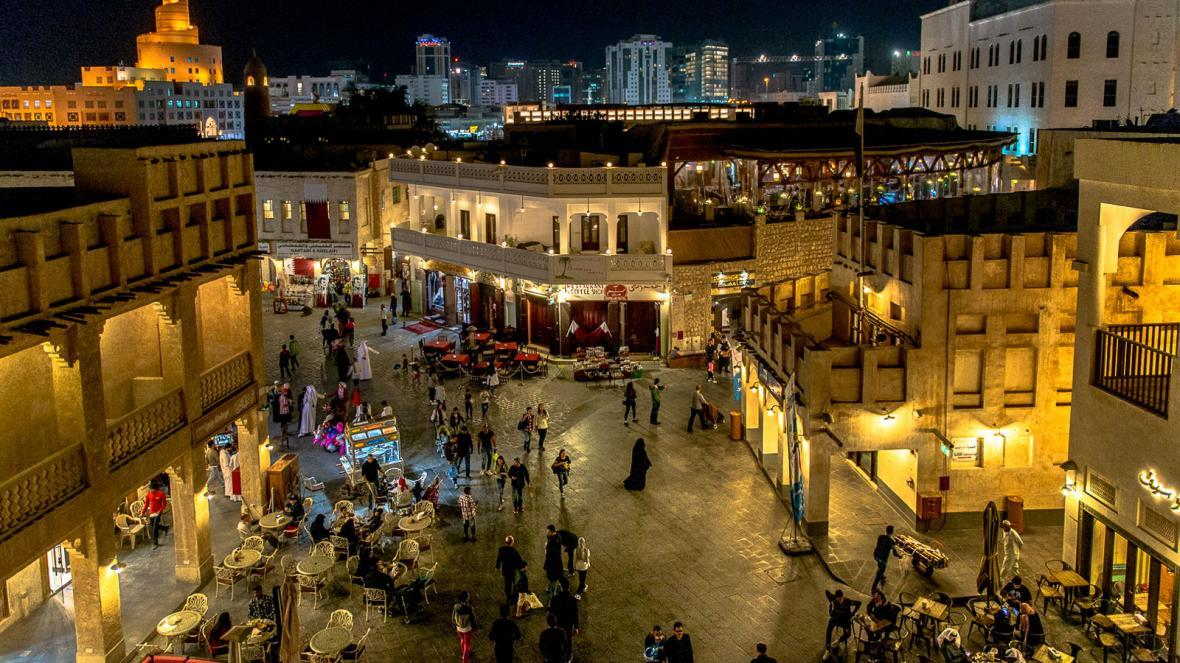 سوق واقف دوحه (قطر)