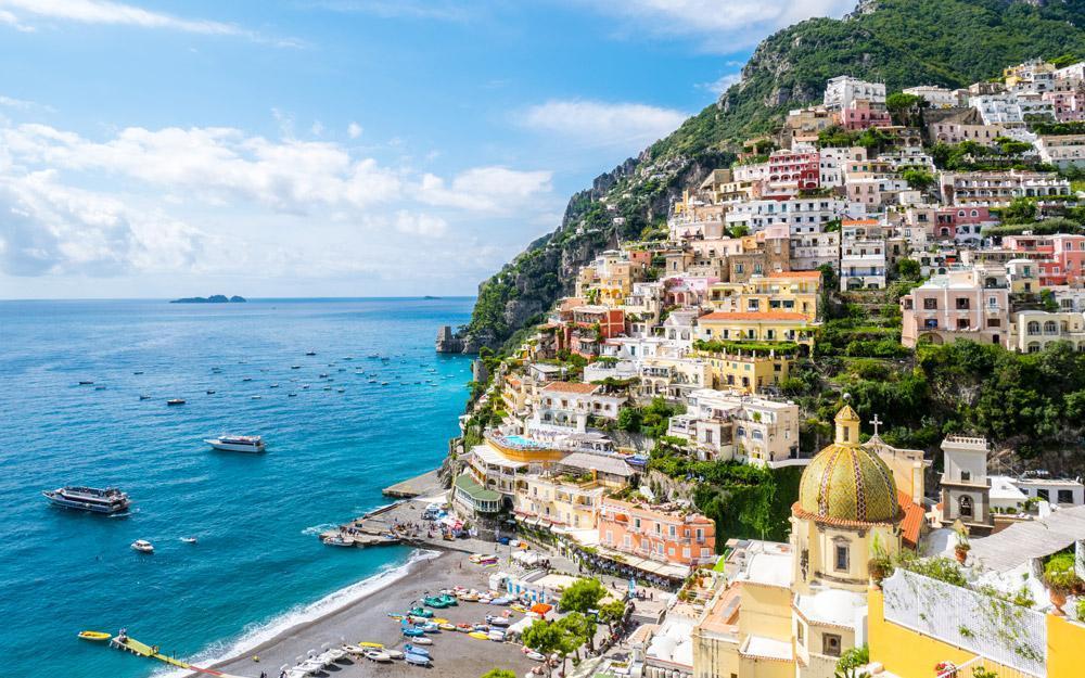 پوزیتانو، شهری باشکوه در ساحل آمالفی ایتالیا