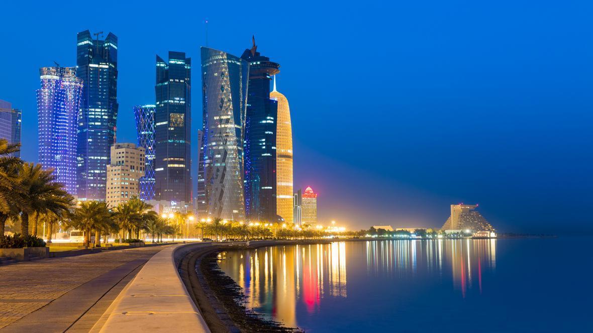 کورنیش دوحه (قطر)
