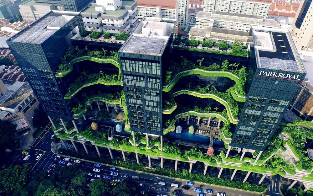 باغ های معلق سنگاپور