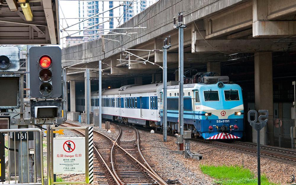 رفتن از هنگ کنگ به گوانجو با قطار