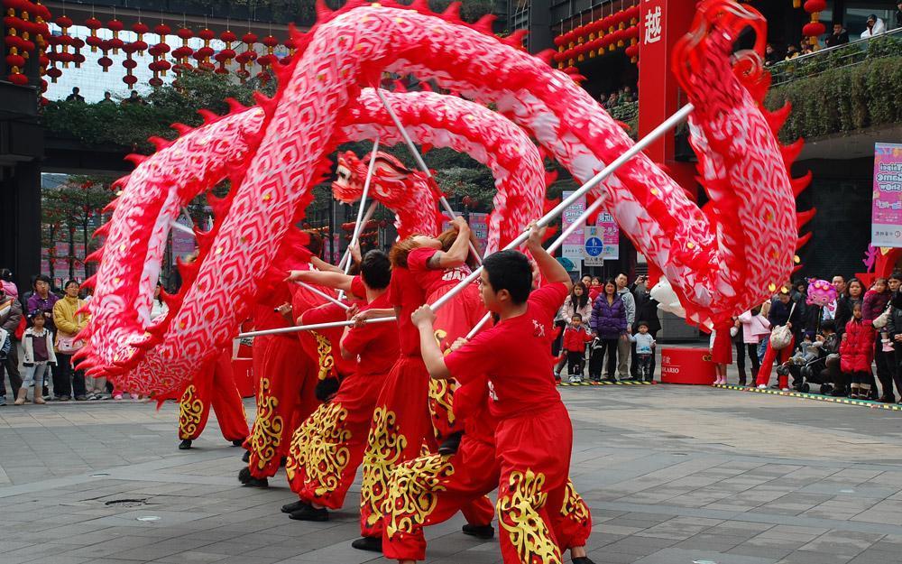 آشنایی با اژدها در چین