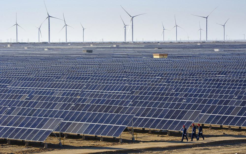 تولید برق با انرژی پاک در چین